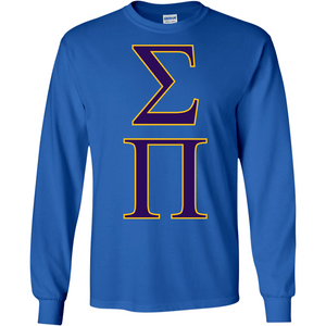 Sigma Pi Officially Licensed (Assorted Colors) Long Sleeve T-Shirt - Almighty Jerseys Jersey Customs Greek Life