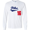 Pi Kappa Alpha Officially Licensed (Assorted Colors) Long Sleeve Shirt - Almighty Jerseys Jersey Customs Greek Life
