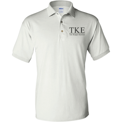 Tau Kappa Epsilon Officially Licensed (Assorted Colors) Polo Shirt - Almighty Jerseys Jersey Customs Greek Life