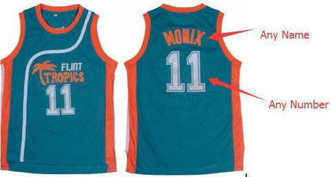 ALMIGHTY Customize Your Org Flint Tropics Basketball Jersey - Almighty Jerseys Jersey Customs Greek Life