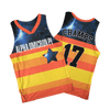 Alpha Omicron Pi Houston Astros Basketball Jersey - Almighty Jerseys Jersey Customs Greek Life