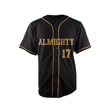 ALMIGHTY Customize Your Org Saints Baseball Jersey - Almighty Jerseys Jersey Customs Greek Life