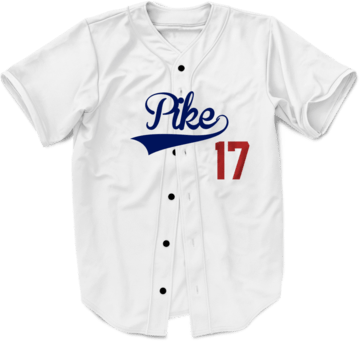 ALMIGHTY Customize Your Org Dodgers Baseball Jersey - Almighty Jerseys Jersey Customs Greek Life