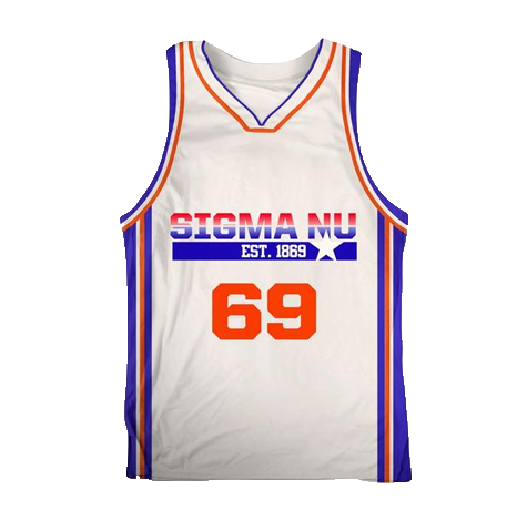 Sigma Nu Dream Team USA Basketball Jersey - Almighty Jerseys Jersey Customs Greek Life