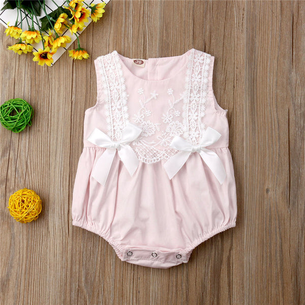 Sweetheart Lace Romper