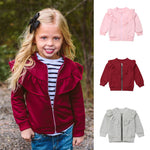 Girls Ruffles Sweater