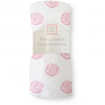 Rose Swaddle Blanket - Debbie's Kids Boutique