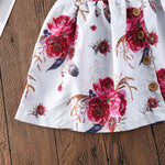 Girls Floral Summer Dress