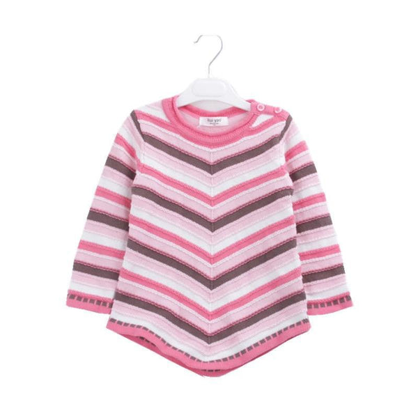 Striped Rainbow Girls Sweater