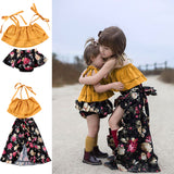 Little Sisters Matching 2 pcs outfit - Debbie's Kids Boutique