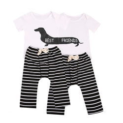 Baby Boy Twins 2 pcs Outfit (Set) - Debbie's Kids Boutique