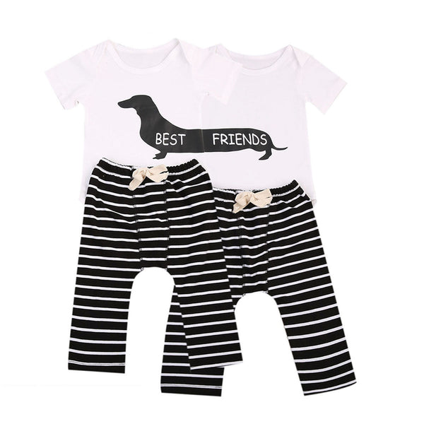 Baby Boy Twins 2 pcs Outfit (Set)