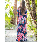 Mommy's Printed Maxi Dress
