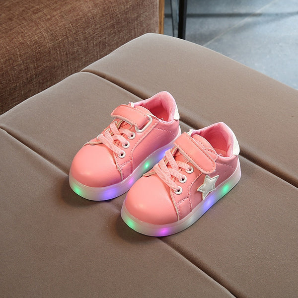 Light Up Star Children Boots