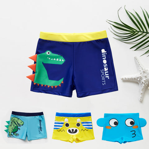 Boys Super Cute Swim Trunks