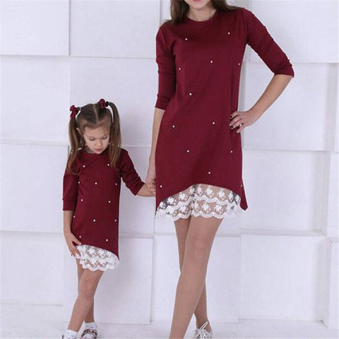 Mommy and Me Matching Fall Dress