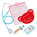 Wooden Pretend Play Doctor Set