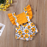 Baby Girl Backless Summer Romper