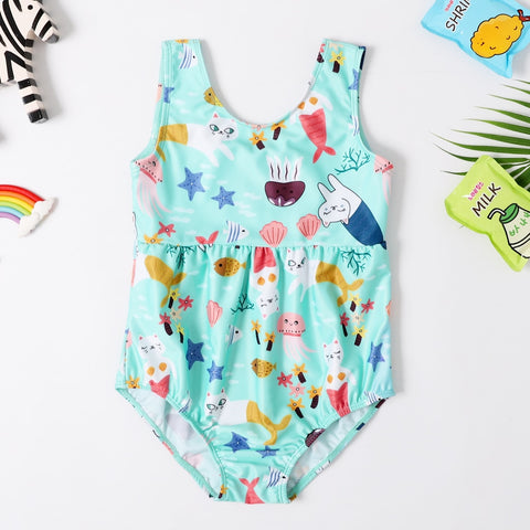 Girls adorable vacation Swimsuit