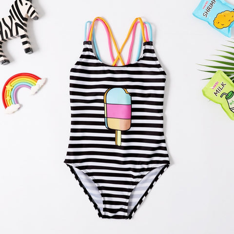 Girl's Icecream Swimsuit
