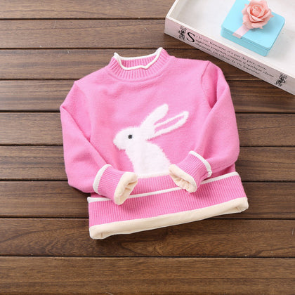 Easter Bunny Sweater for little girls