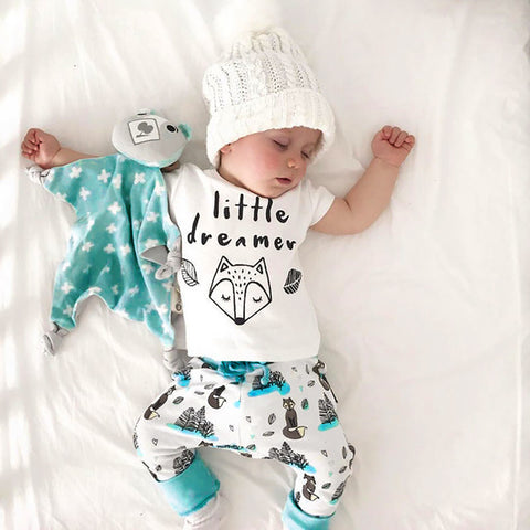 Little Dreamer 2 pcs outfit - Debbie's Kids Boutique