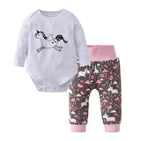 Unicorn 2 pcs outfit