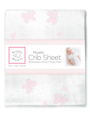 Muslin Fitted Crib Sheet - Debbie's Kids Boutique