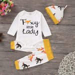 Foxy Little Lady 3 pcs set