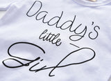 Daddy's Little Girl 3 pcs outfit