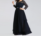 Plus Size Holiday evening dress