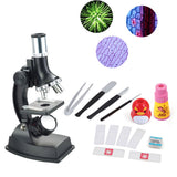 Little Scientist 900x Children Microscope Set with Lamp