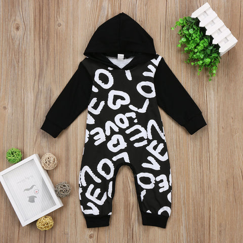 Little Love Hooded romper