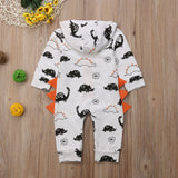 Dino Hooded romper