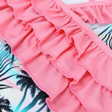 Girls Tropical Swimsuit