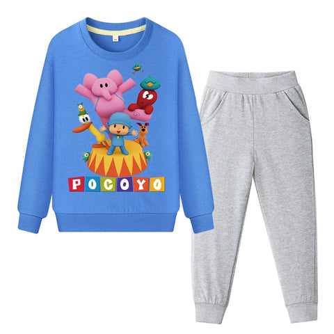 Boys Pocoyo Sweatshirt and Pants Set