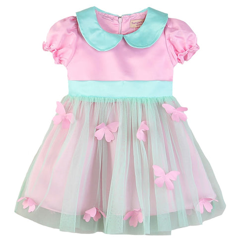 Pretty Pink Birthday Girl Dress