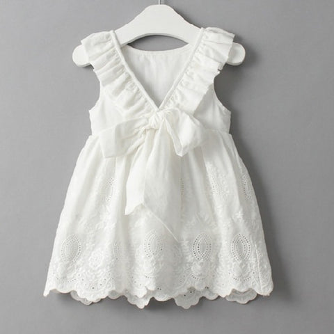 Baby White Christening Dress - Debbie's Kids Boutique