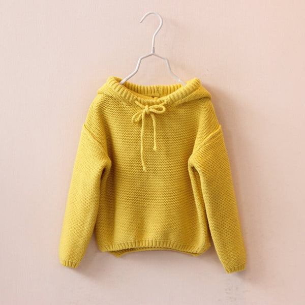 Girls Hooded Sweater