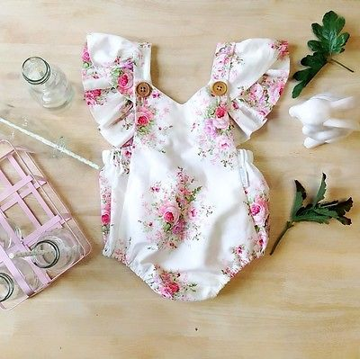 Miss Rose Sweetheart Romper