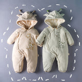 Giraffe warm infant Romper