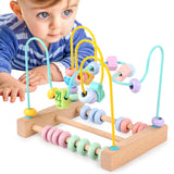Pastel Color Wooden Maze Toy