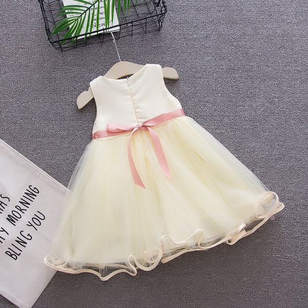 Lia's Flower Girl Dress - Debbie's Kids Boutique
