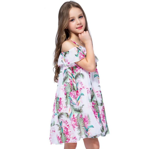 Girls Floral Fun Dress