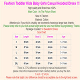 Girl's Hooded Sweatshirt