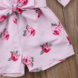 Miss Rose Floral Romper