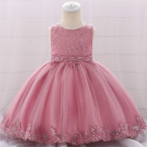Infant Baby Girl Christmas party dress