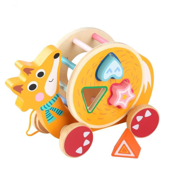 Wooden Animal Shapes Sorter