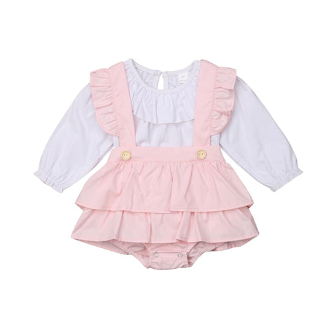 Pretty Baby Ruffle Romper set