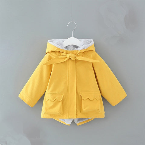Beautiful Cozy Spring Parka